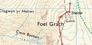 Foel-Grach-Map