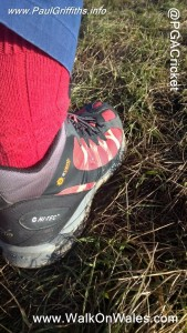 "My Hi-Tec Red Boots ""Inspired by Life"""