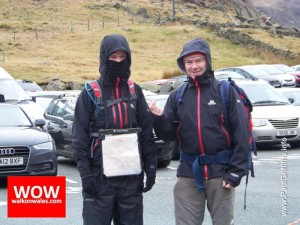 Car Drop off at Pen Y Pass Car Park